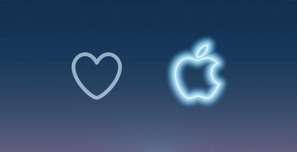Dar like a un tuit sobre el #AppleEvent tiene esta curiosa animación