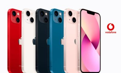 Precios iPhone 13, 13 Mini, 13 Pro y 13 Pro Max con pago a plazos y tarifas Vodafone